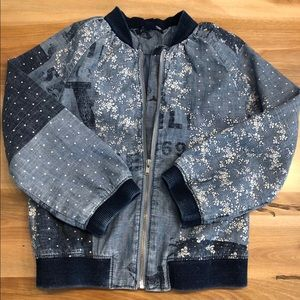 BabyGap denim zip jacket
